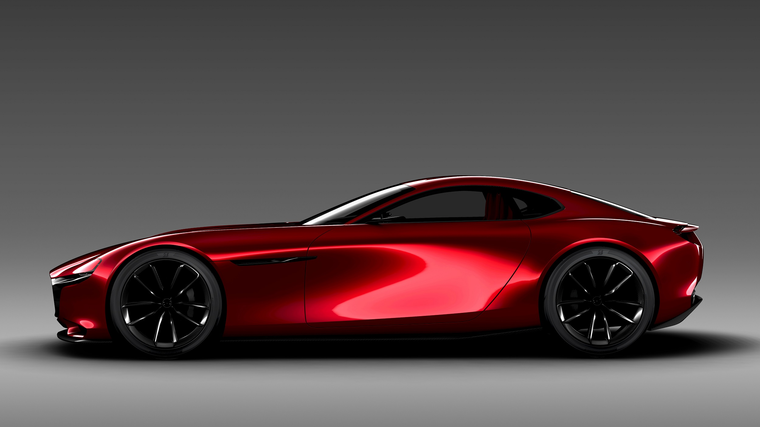 Mazda red concept car