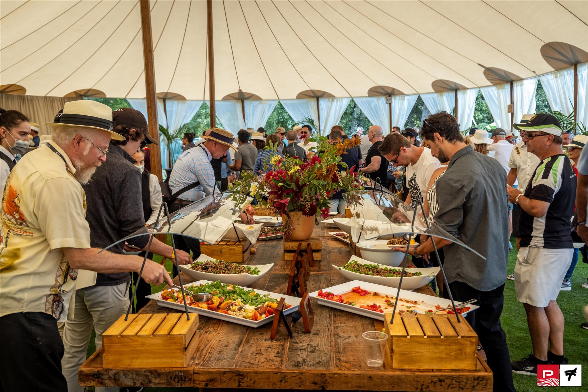 2021 Quail dining tent