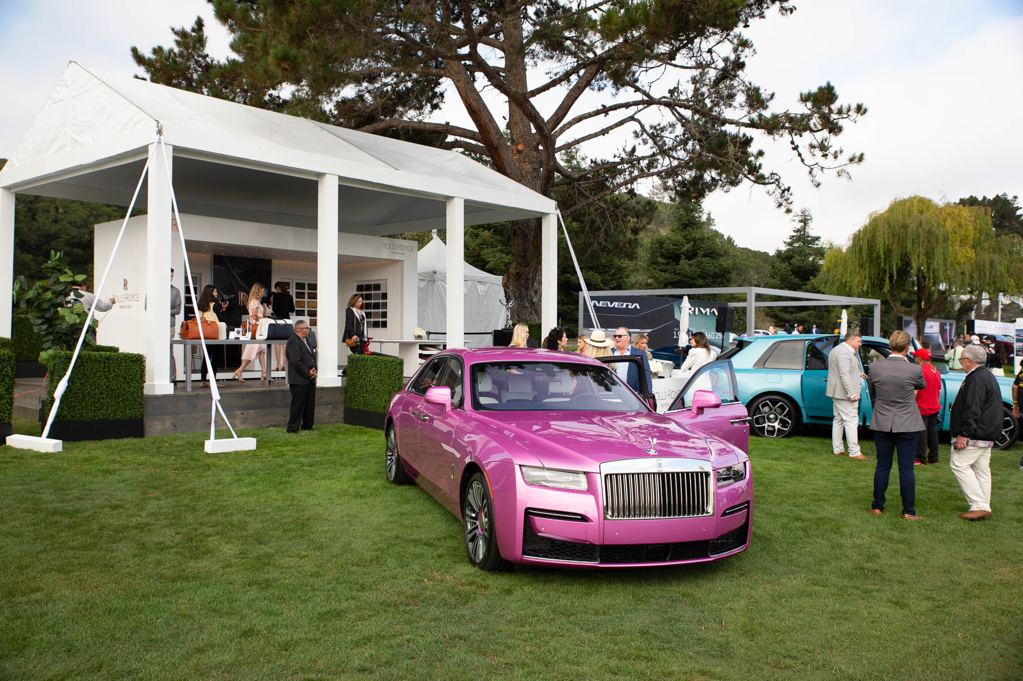 Rolls Royce at the 2021 Quail The Gathering
