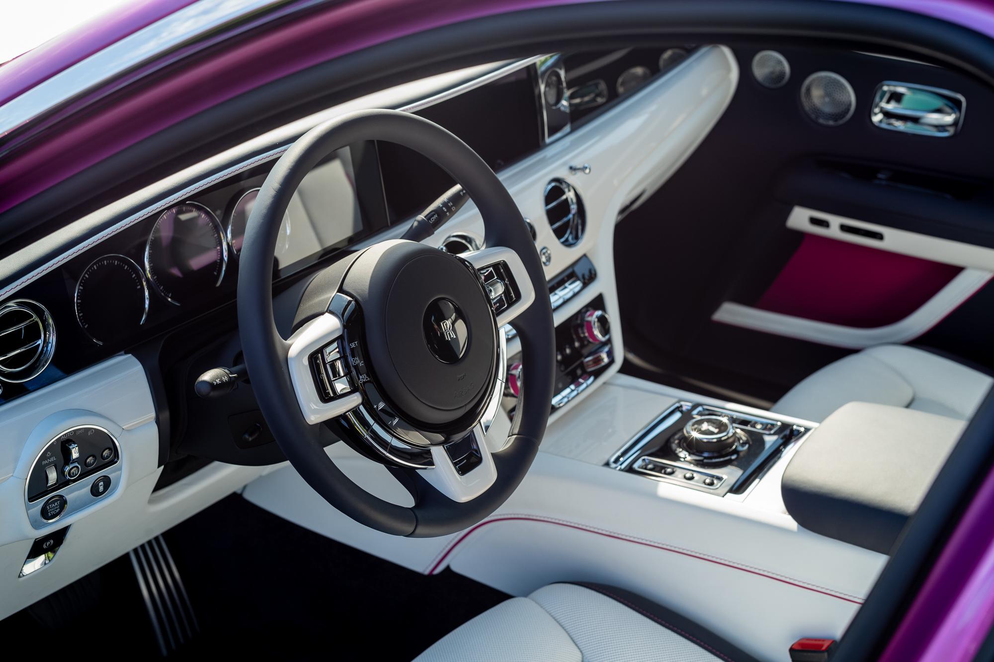 Rolls Royce Ghost custom interior