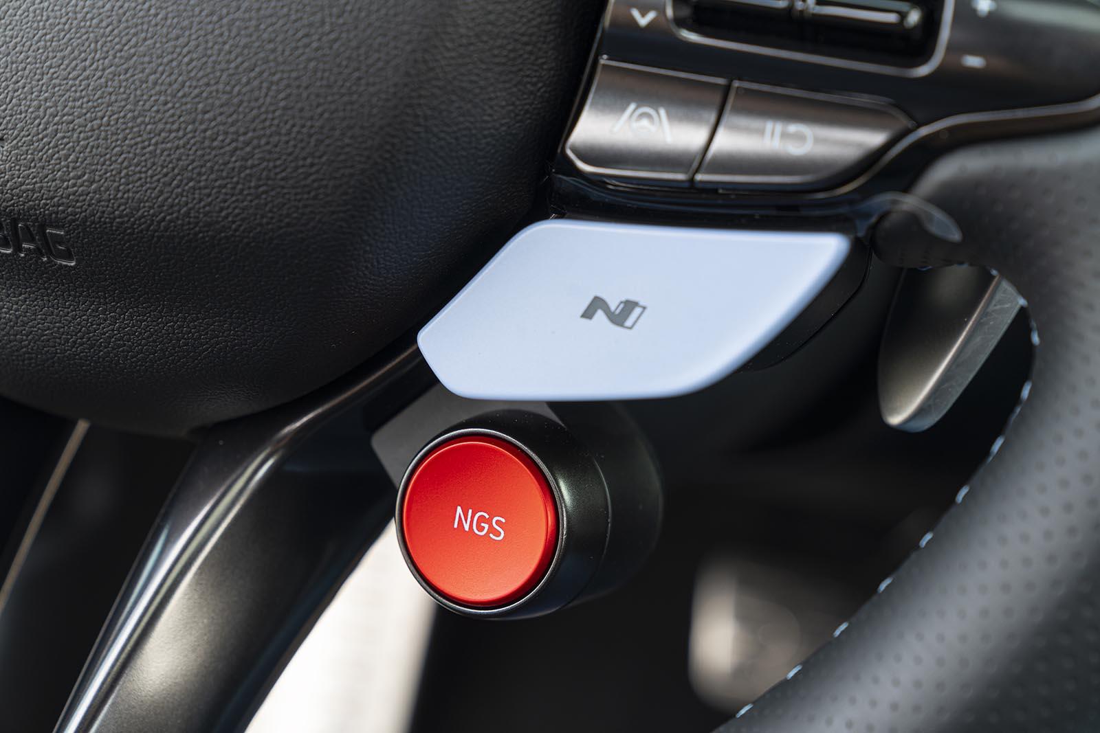 2022 Hyundai Elantra N button