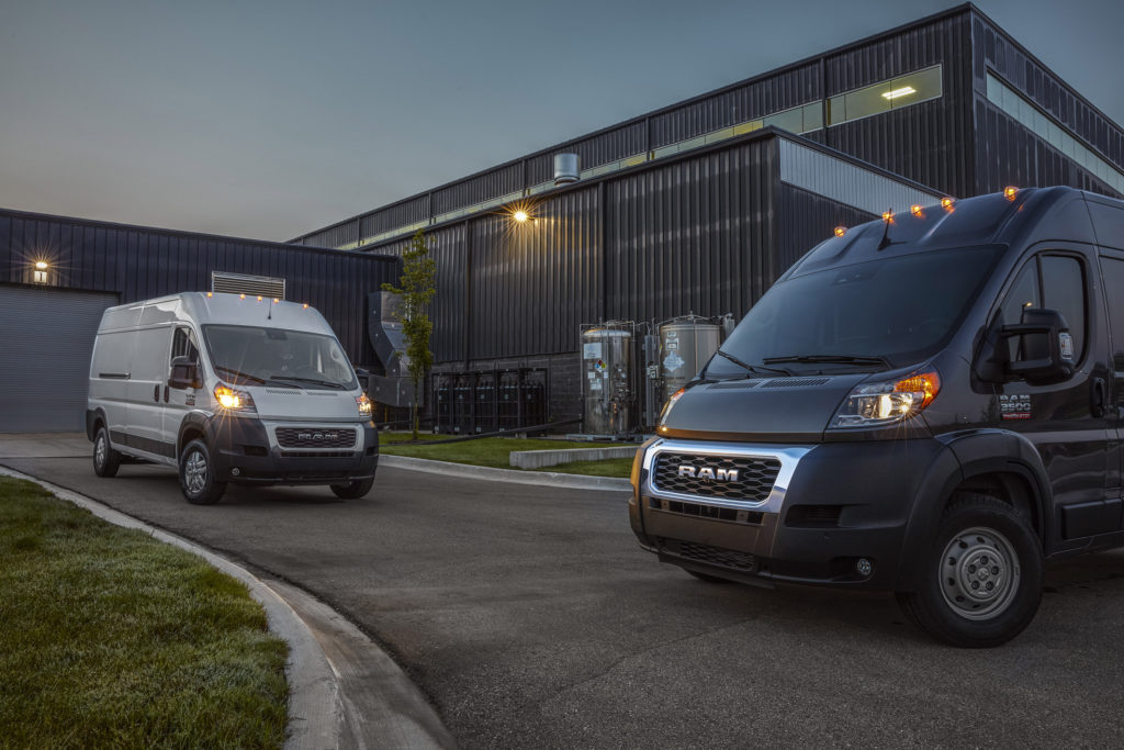 2022 Ram ProMaster 2500 and 3500