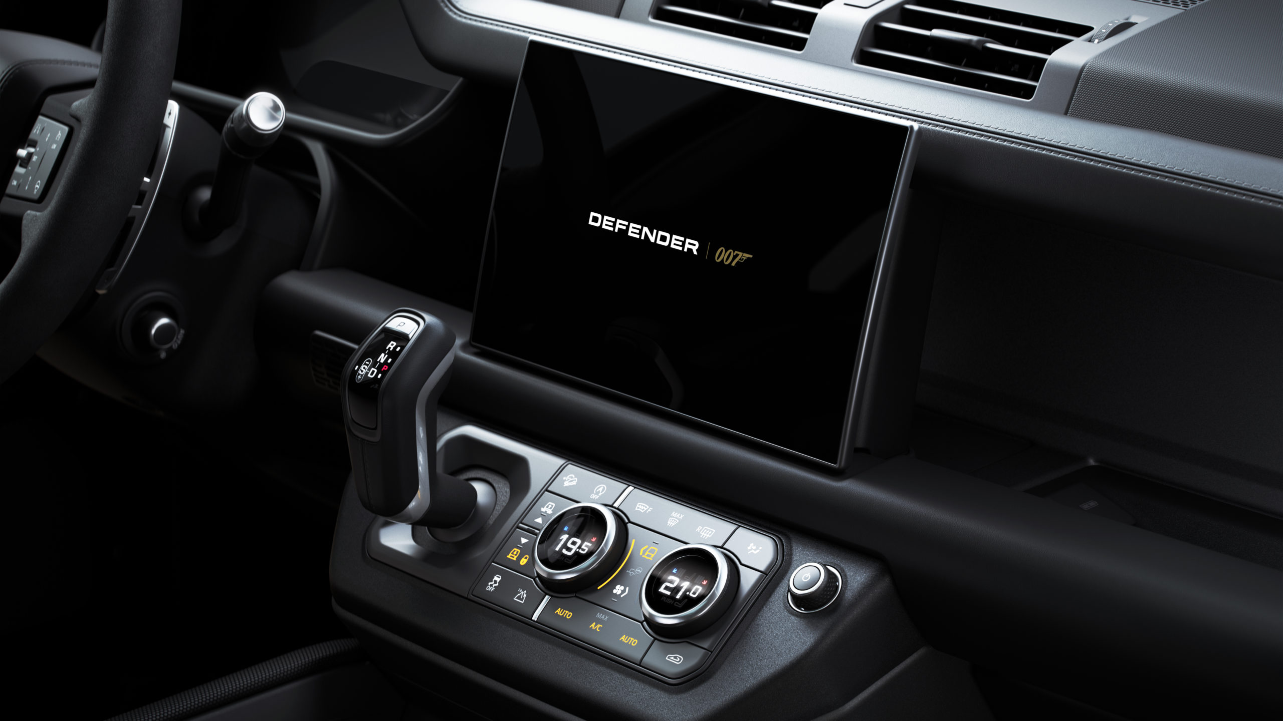 2022 Land Rover Defender V8 Bond Edition interior