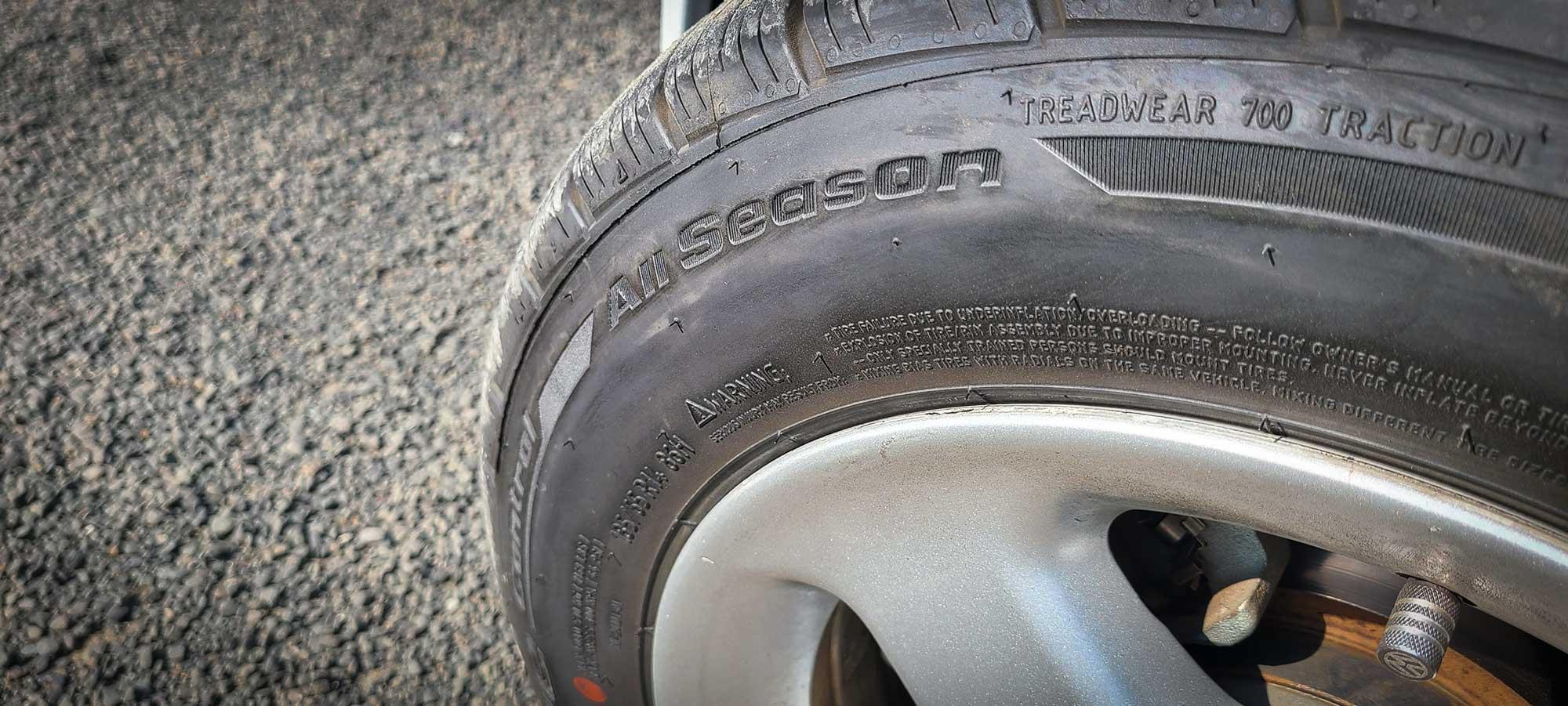 All-season BFGoodrich tire