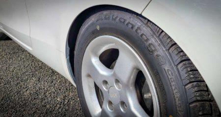 BFGoodrich Advantage Control Tires on white car
