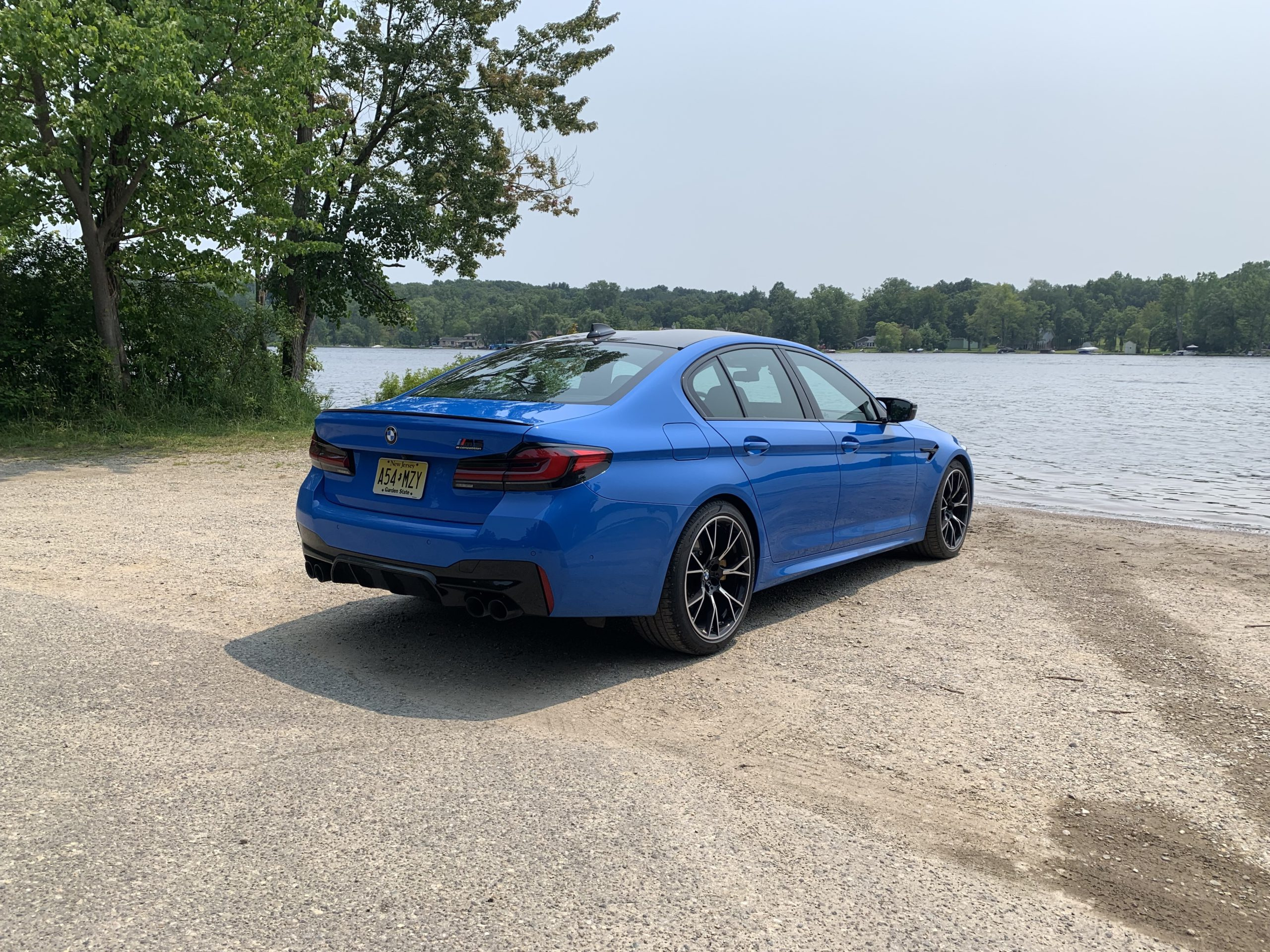 2021 BMW M5 Competition rear view