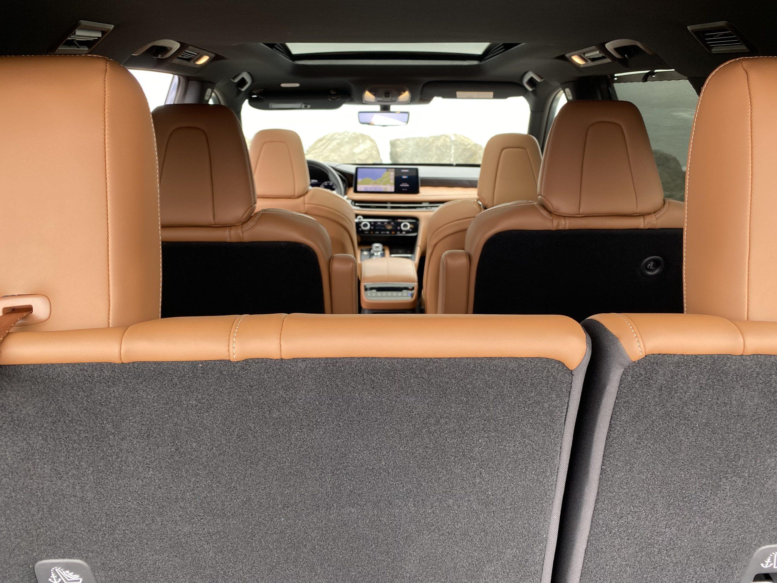 2022 Infiniti QX60 interior seats