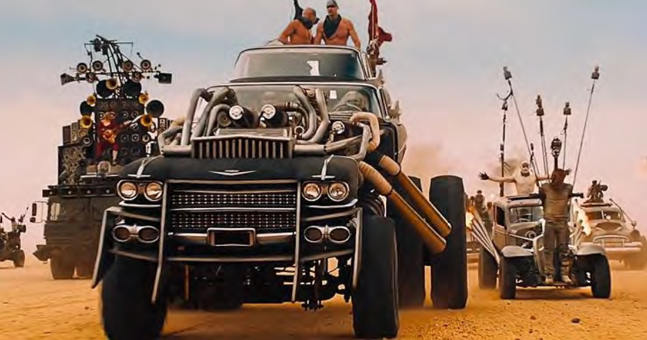 mad max: fury road car auction