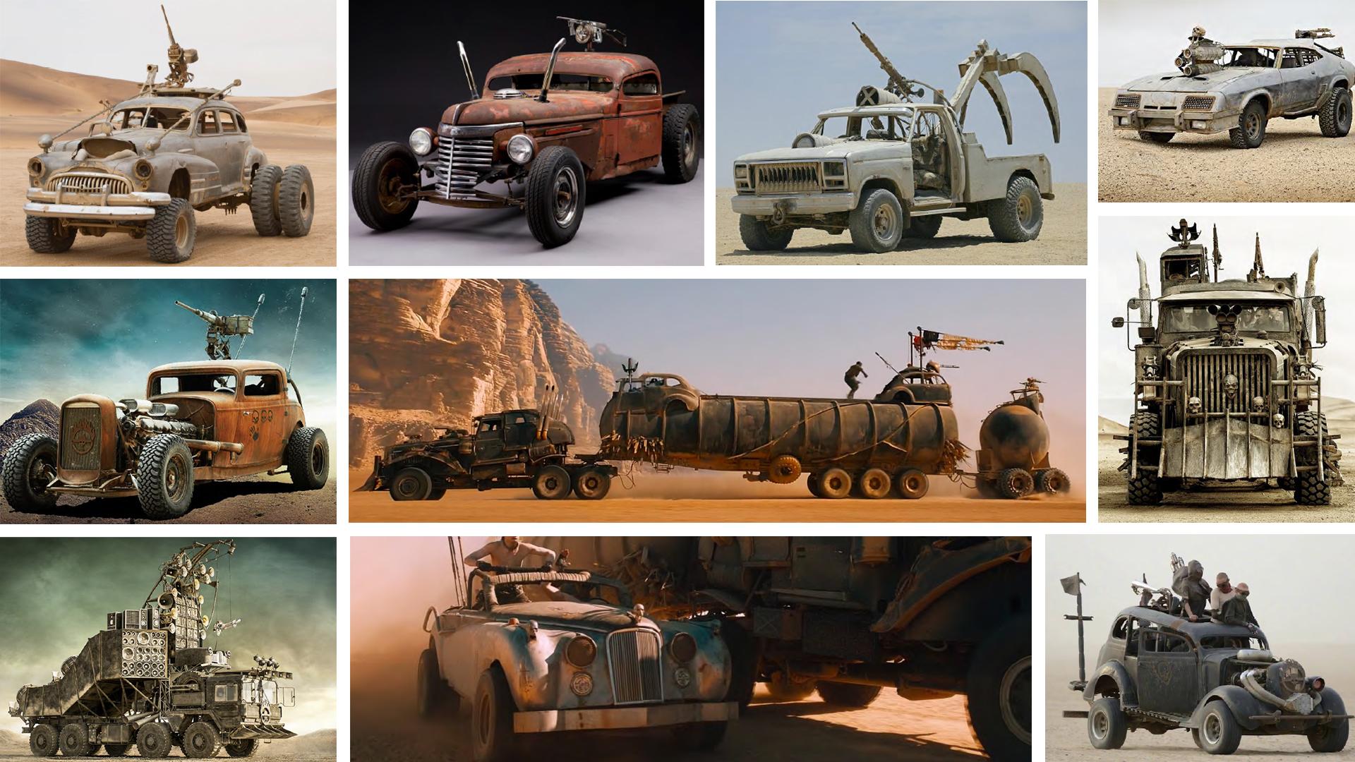 Post-Apocalyptic Carplay? 'Mad Max: Fury Road' Cars Hit the Block