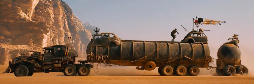 mad max: fury road auction