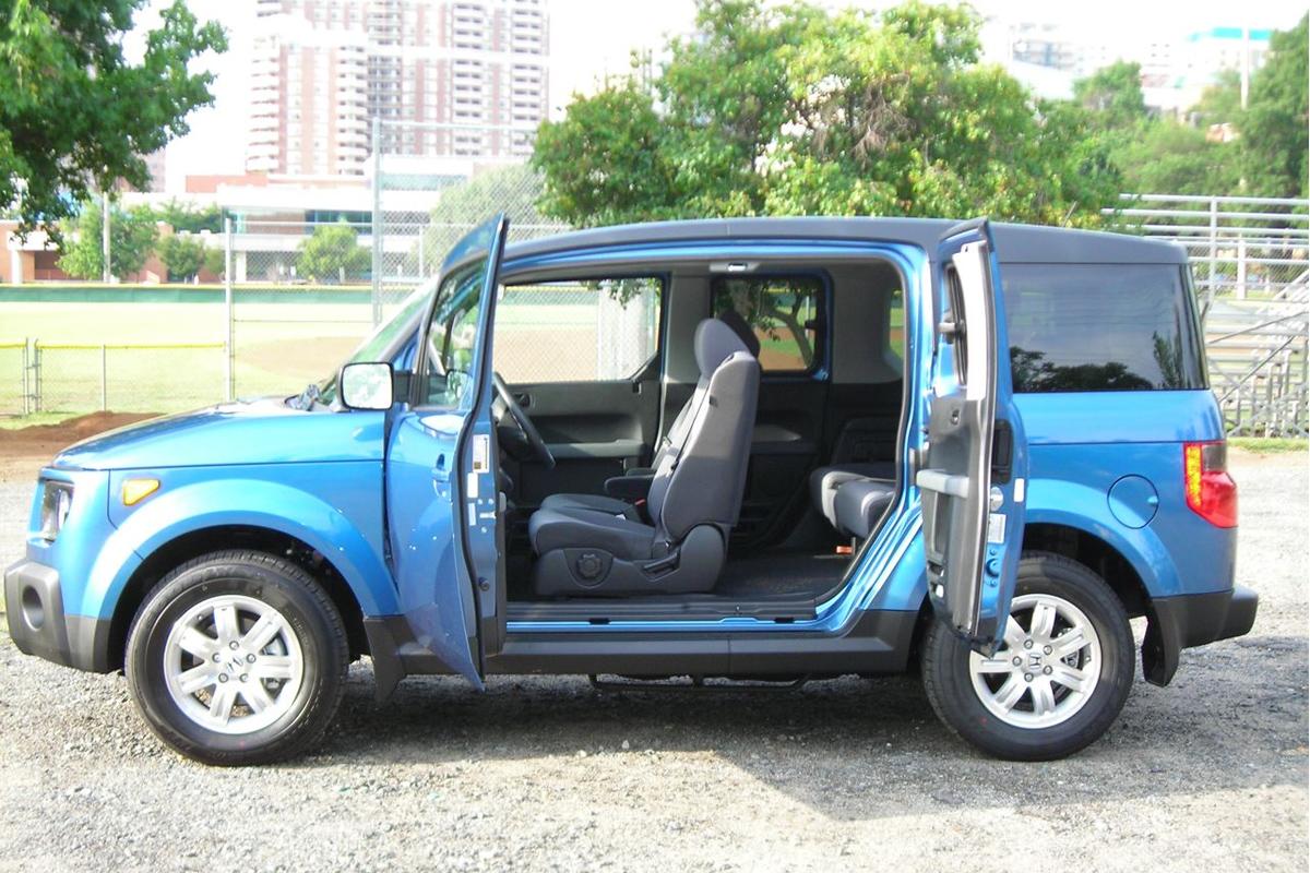Honda Element doors ajar