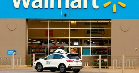 last-mile delivery from ford, argo, walmart