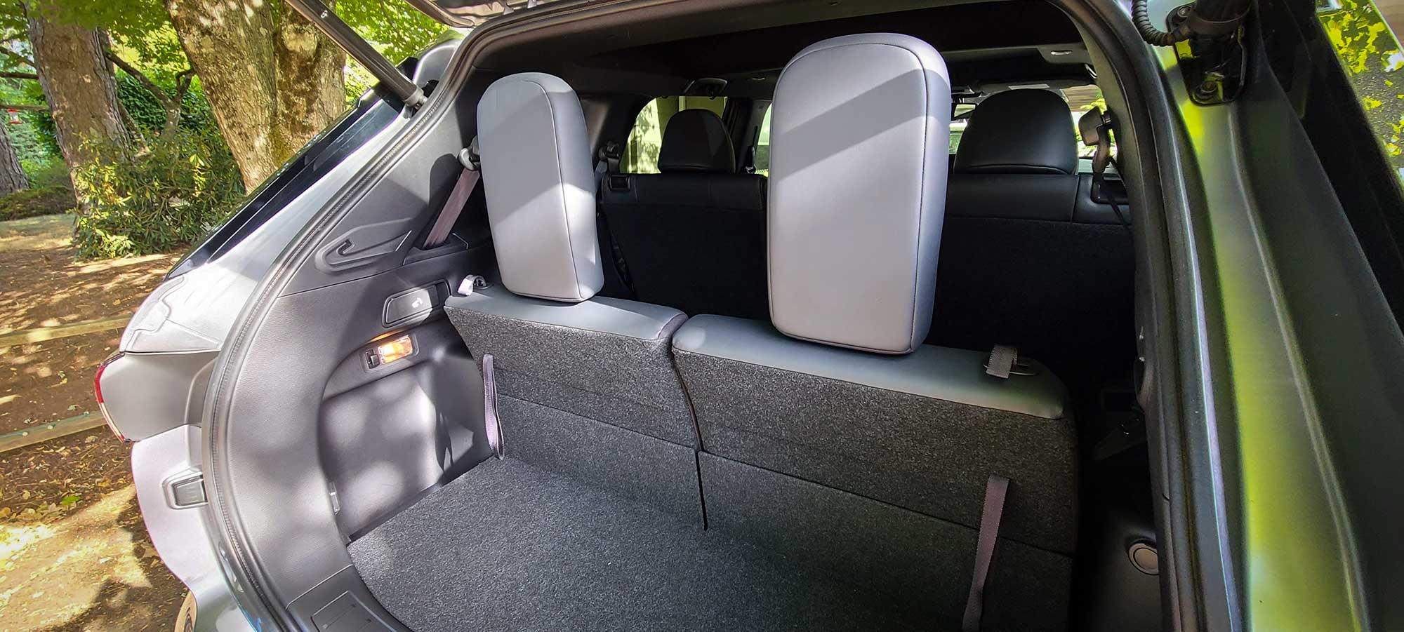 The 2022 Mitsubishi Outlander offers three rows of seating