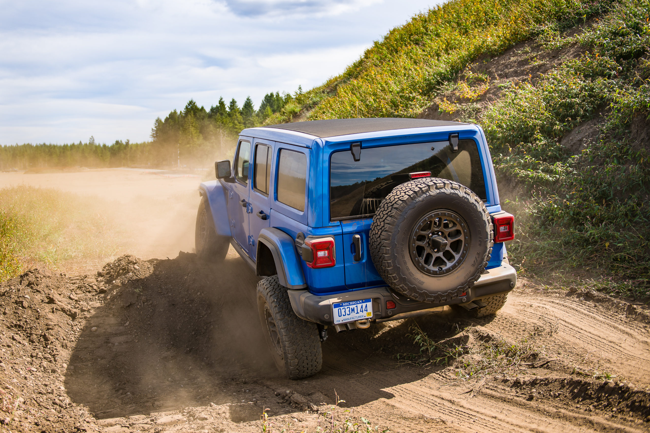NWAPA Mudfest 2021 Jeep 392 Wrangler off-road