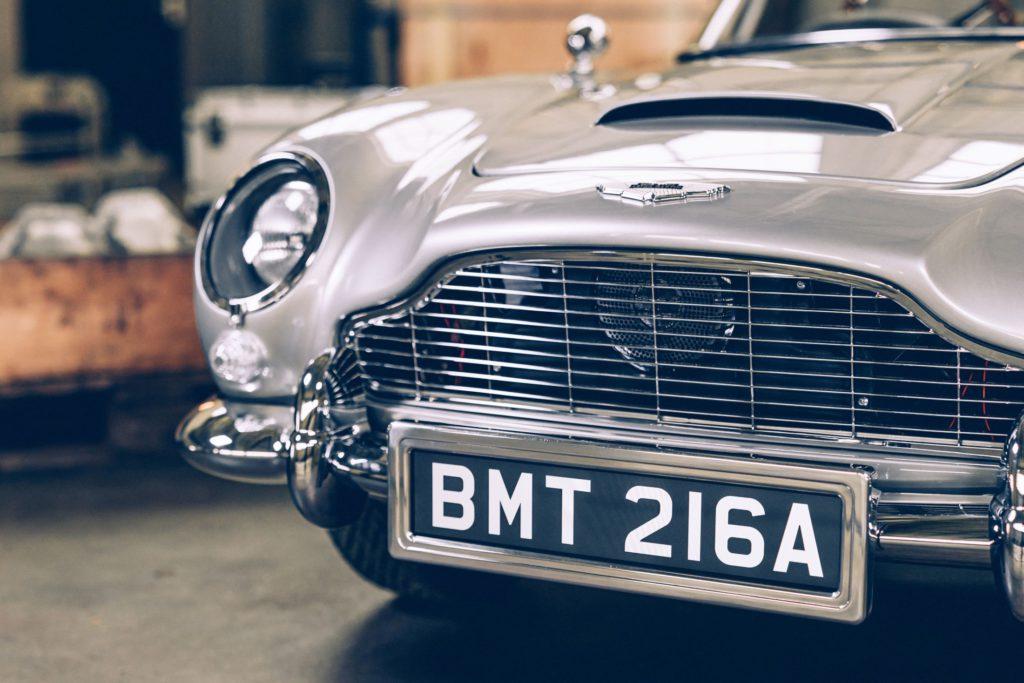 aston martin little car company bond car