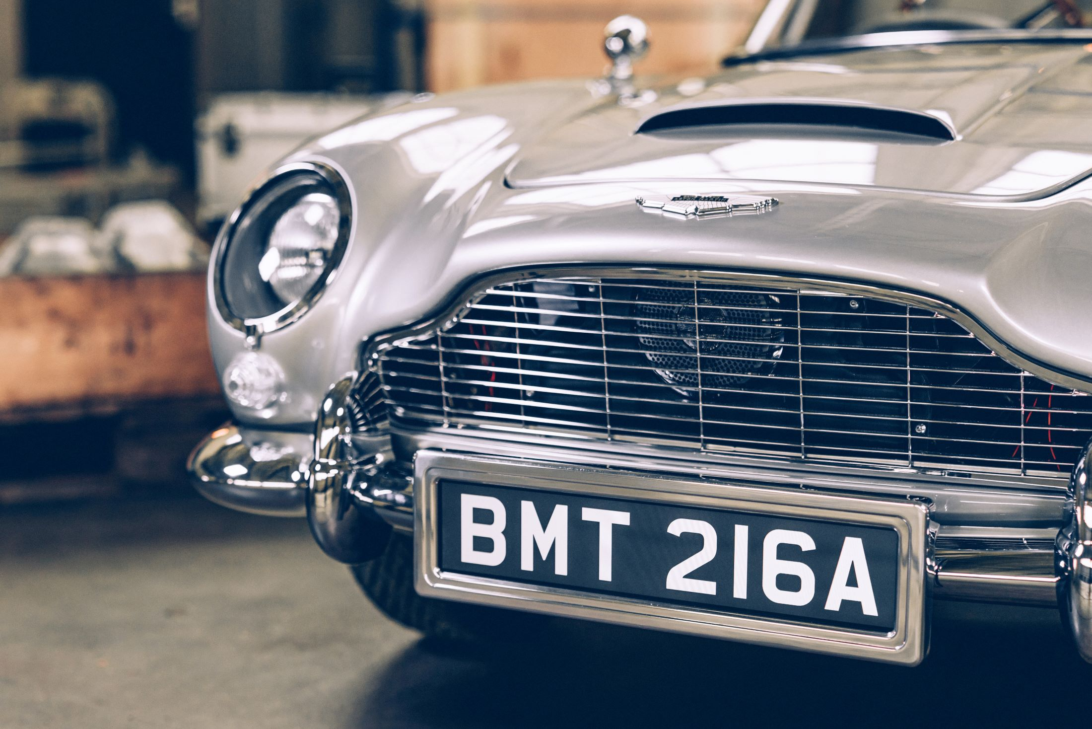Bond Dreams Realized: Limited Edition Aston Martin DB5 2/3rds Replica Has All The Gadgets