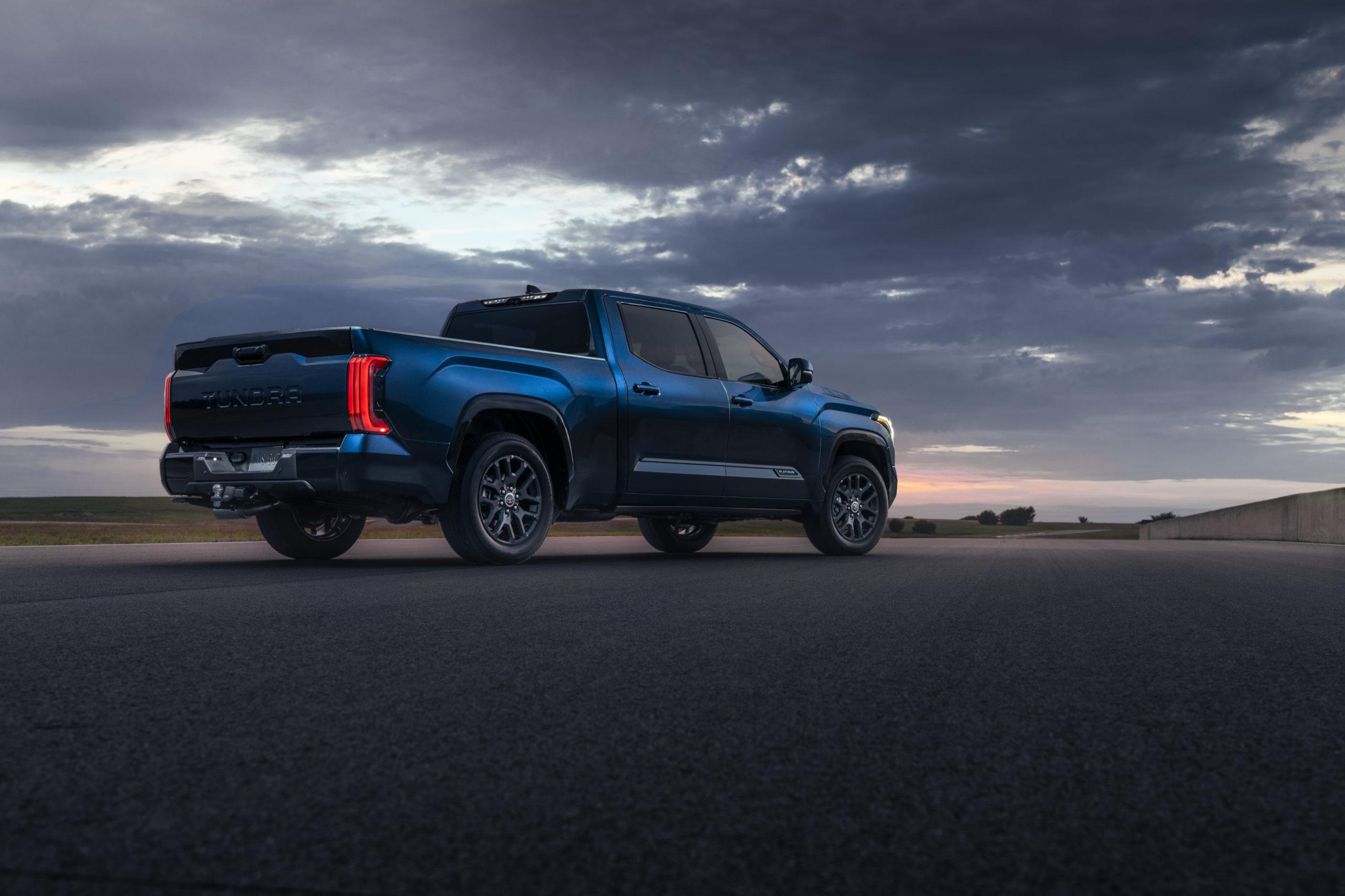 2022 Toyota Tundra exterior