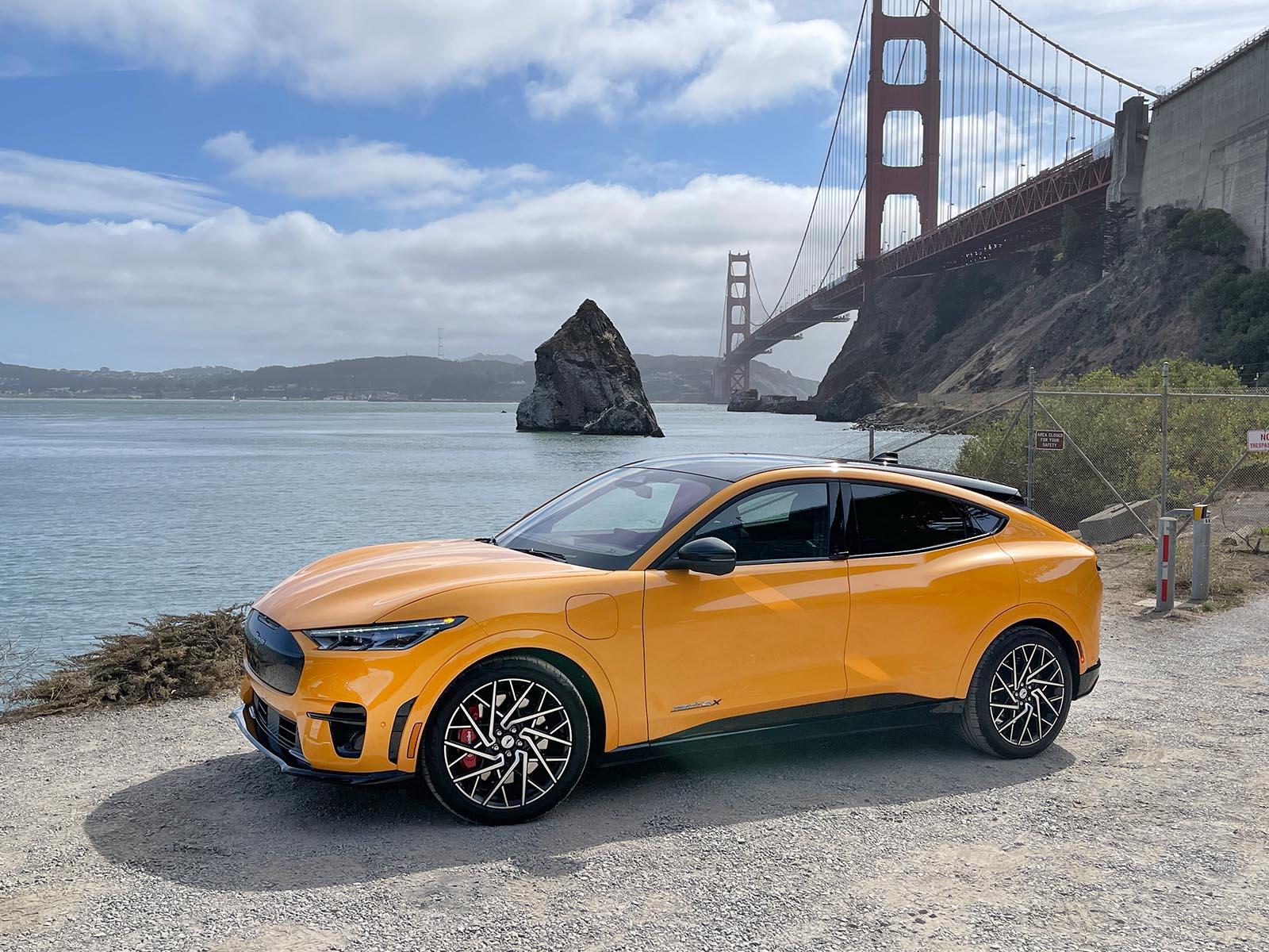 2022 Mustang Mach-E GT performance