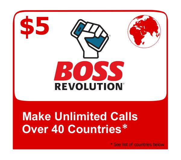 boss revolution $5 unlimited plan
