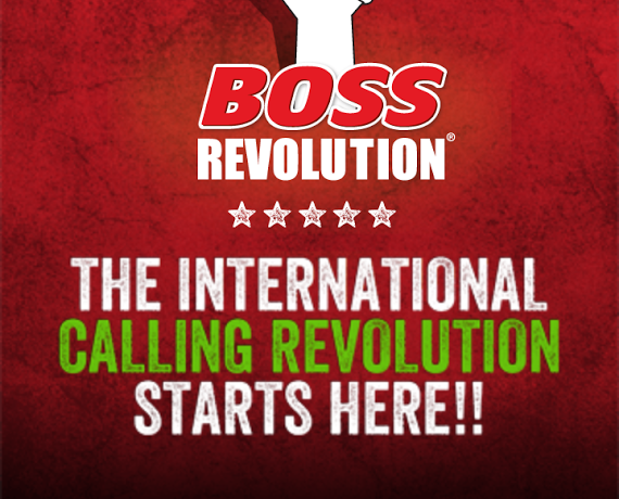 boss revolution calling card