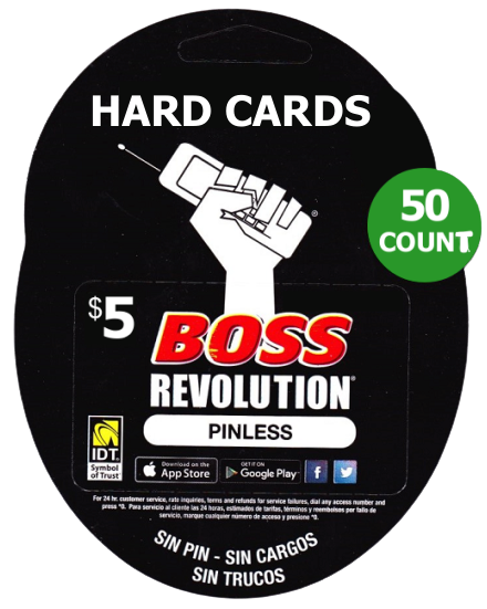 $5 hard cards 50