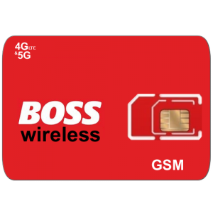 Boss wireless sim card