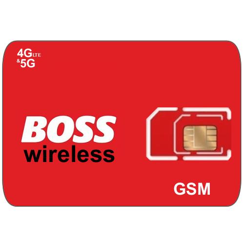 Boss wireless sim card