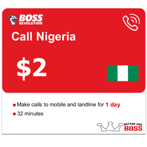 $2 Call Nigeria with Boss Revolution