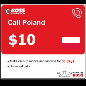 $10 call Poland