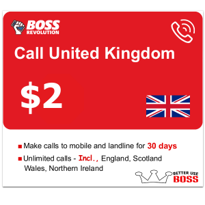 $2 Call United Kingdom