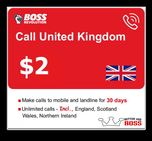 $2 Call United Kingdom