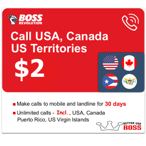 $2 Call usa Canada us territories