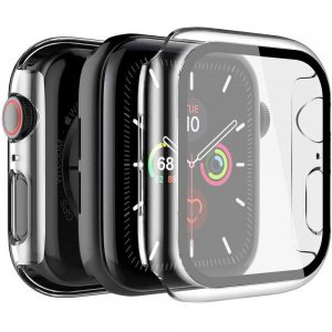 Apple_Watch_Matte_finish_hard_case_with_tempered_glass__clear
