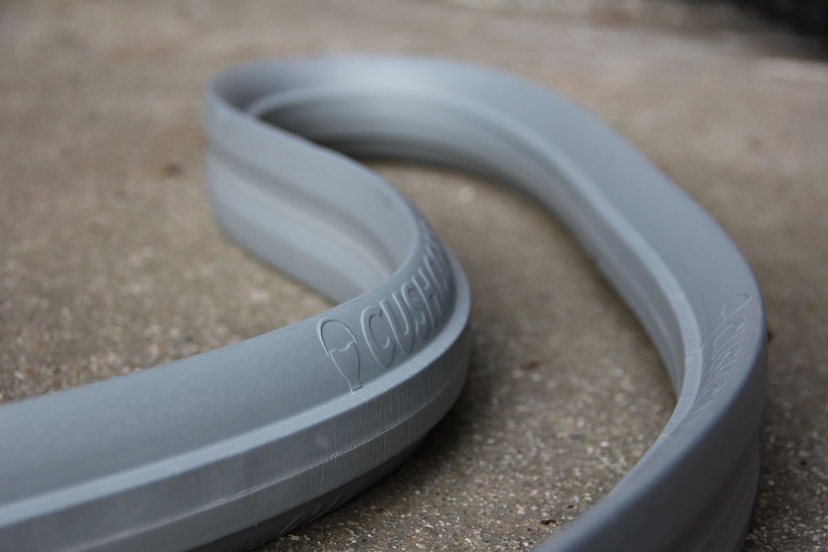 cushcore pro mtb tire insert reduces arm pump rider fatigue