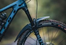 mudhugger evo review riding muddy trails scotland front mud guard fender test
