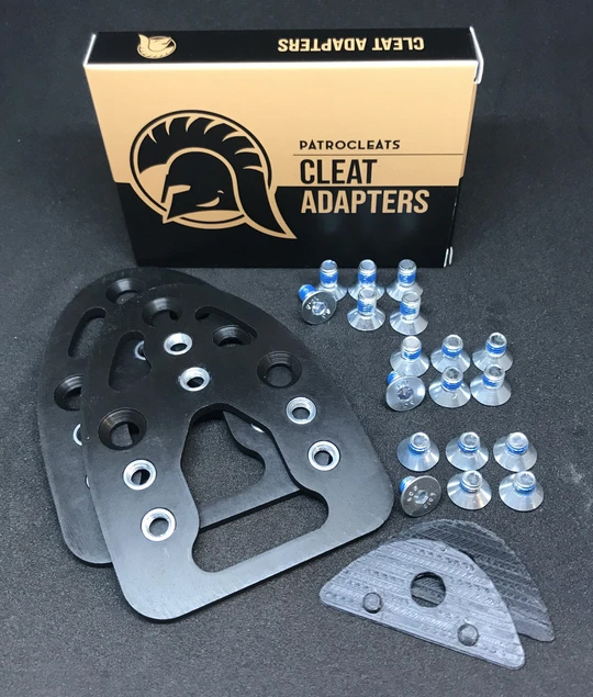 PatroCleats Adapters packaging