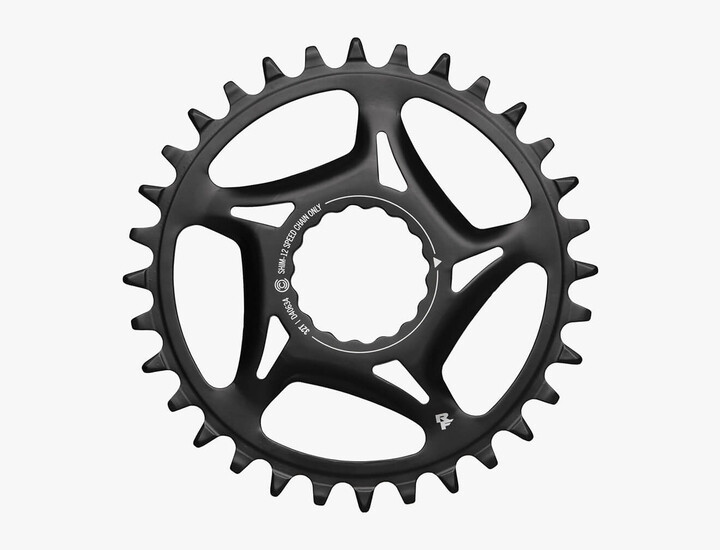 Race Face steel Shimano 1x CINCH chainring side profile