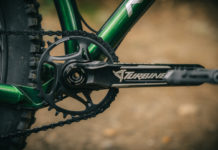 RACE face steel 12-speed shimano chainring on crankset