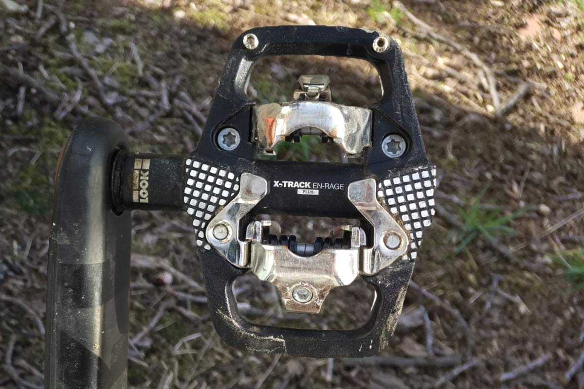 look x-track enrage plus mountain bike pedals