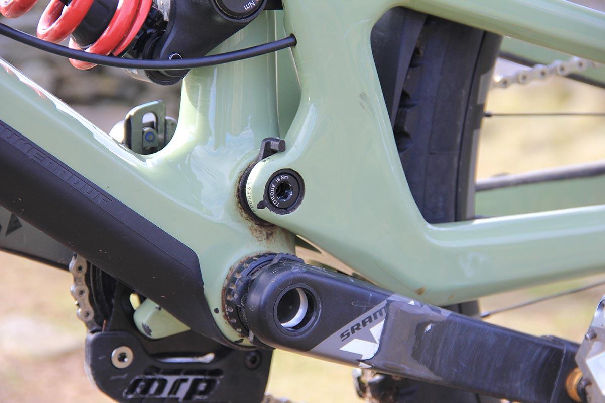 nigel page nukeproof giga enduro bike check progressive suspension setting
