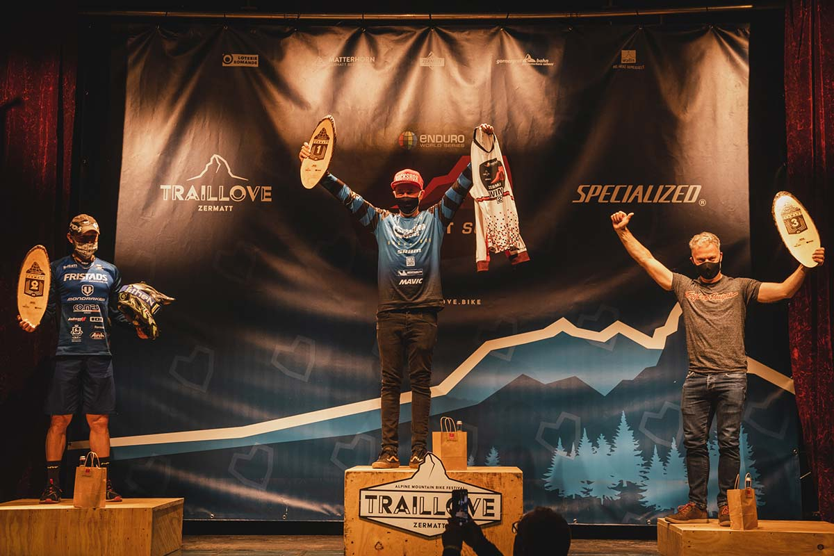 nigel page winner of 2020 ews round 1 zermatt Switzerland masters category