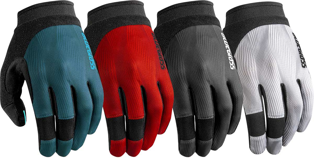 bluegrass recat mtb gloves all colors blue red grey white