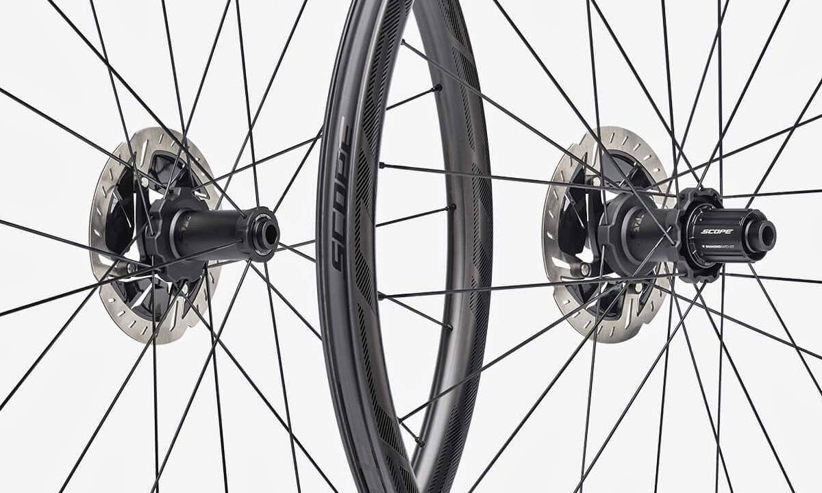 All Scope Cycling carbon wheels, new Diamond Ratchet hubs