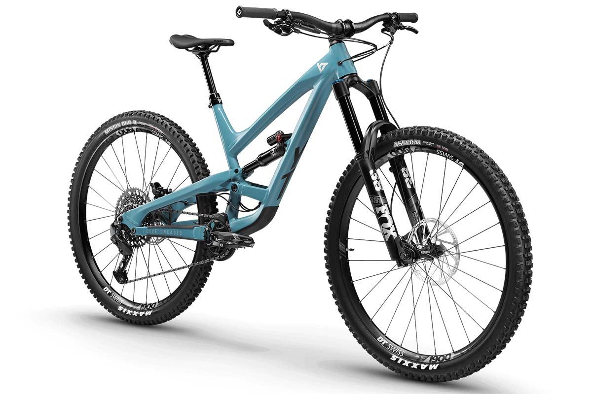 YT Capra Pro AL 29er enduro bike alloy frame gunship blue