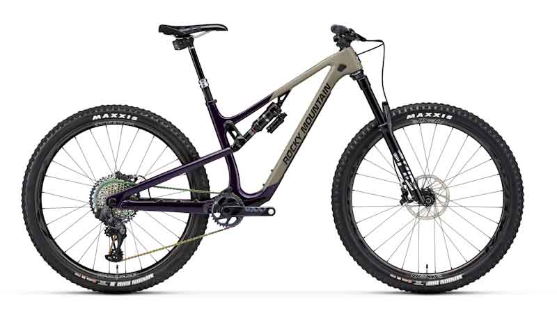 Rocky Mountain Bikes 2021 Instinct, Carbon 99, side