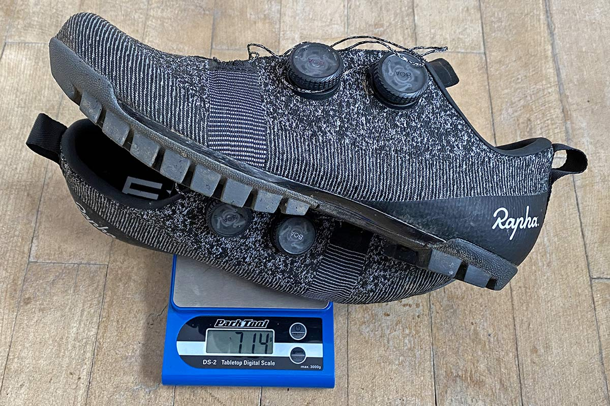 Rapha Explore Powerweave carbon-soled gravel bike shoes,714g actual weight