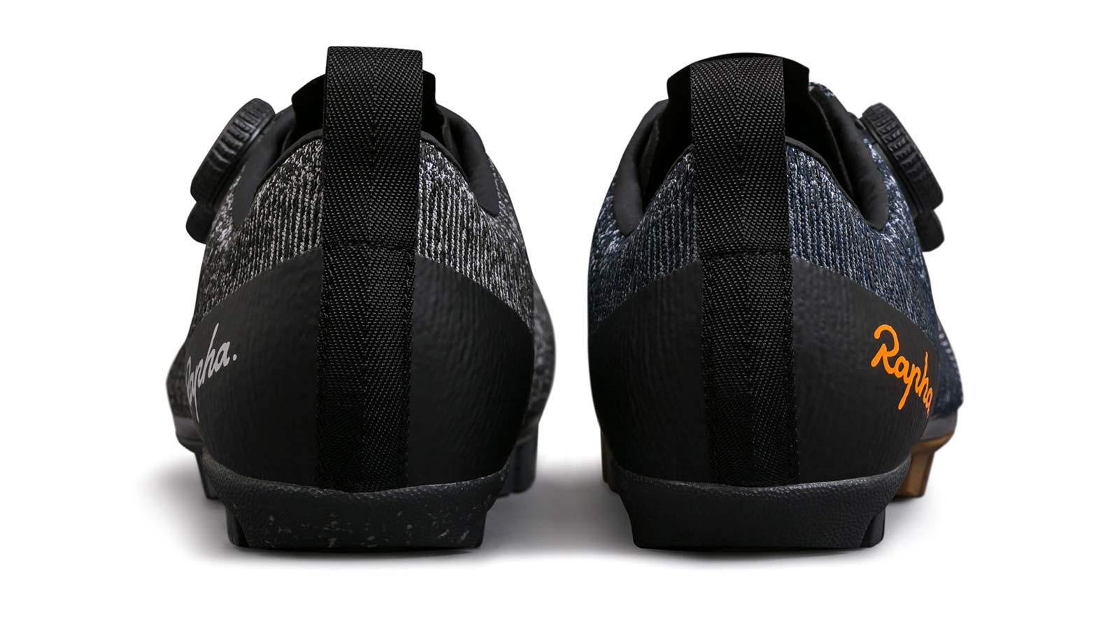 Rapha Explore Powerweave carbon-soled gravel bike shoes,heel rear view