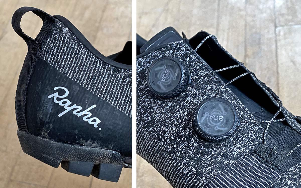 Rapha Explore Powerweave carbon-soled gravel shoe review,details