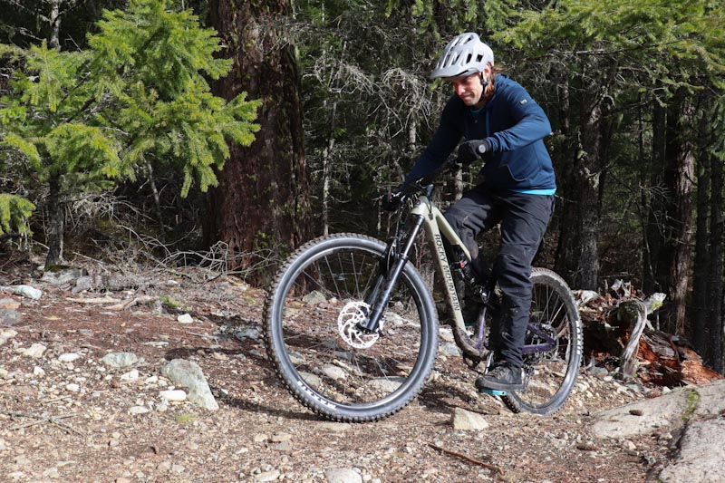 Rocky Mountain Bikes 2021 Instinct, Steve Fisher climbing