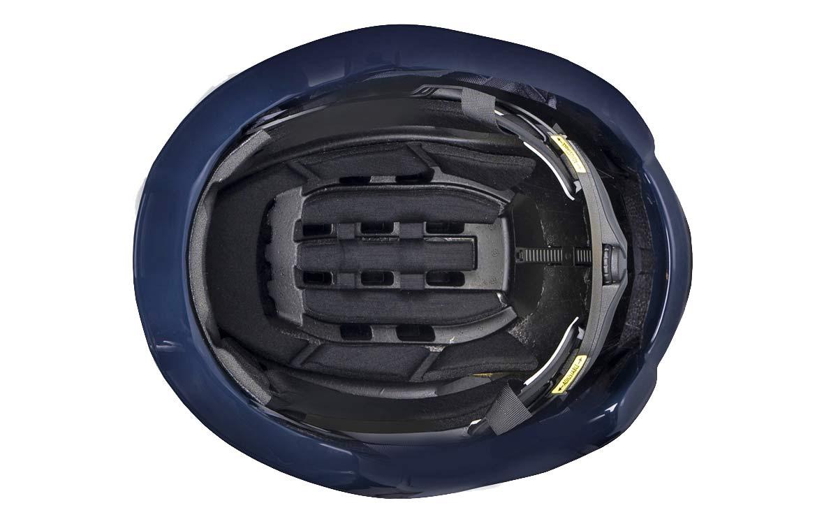 Kask Wasabi aero road helmet, adjustable venting aerodynamics merino padding, inside